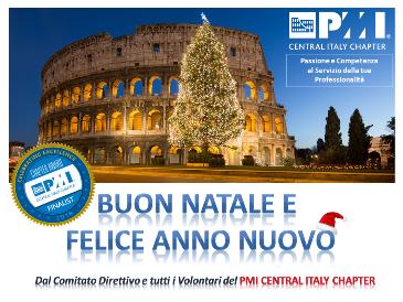 Buon Natale 1a.Buon Natale E Felice Anno Nuovo Pmi Central Italy Chapter